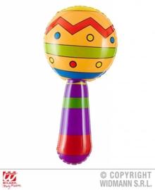 Opblaas sambaballen met geluid