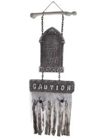 Hanging decoration grey 120x43cm