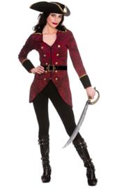 Pirate kostuum deluxe