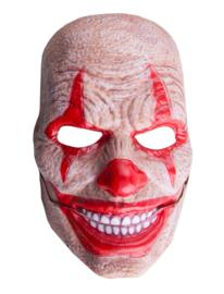 Clown masker bewegende mond