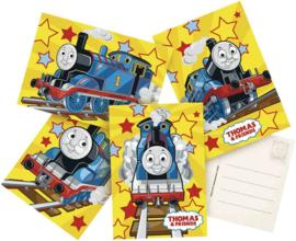 Uitnodigingskaarten Thomas de trein