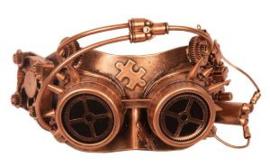 Oogmasker steampunk puzzel