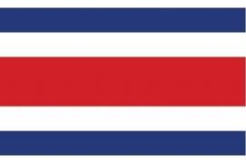 Vlag Costa rica 90x150cm