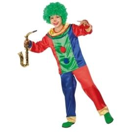 Clown jodokus kostuum