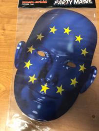 Kartonnen masker EU Op=Op