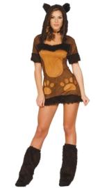 Sexy knuffelbeer jurkje