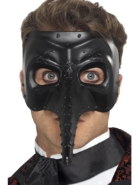 Ventiaanse gothic capitano masker