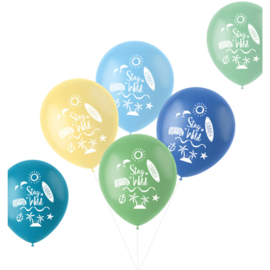 Thema ballonnen (bedrukt)