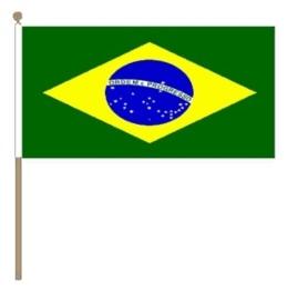 Zwaai vlaggetje Brazilie