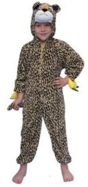 Kleine plushe luipaard