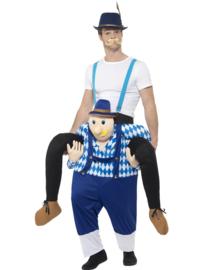 Tiroler heer gedragen kostuum