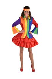 Regenboog jasje luxe
