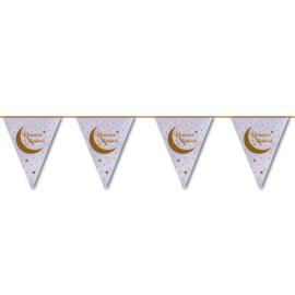 Ramadan Mubarak vlaggenlijn