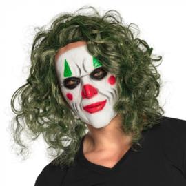 Latex hoofdmasker De Schurk | The Joker