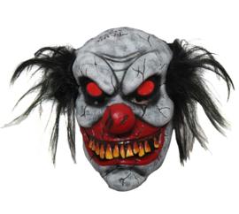 Masker zombie clown met licht
