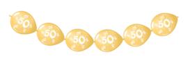 Doorknoopballonnen 50 jaar