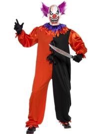 Sinister clown kostuum