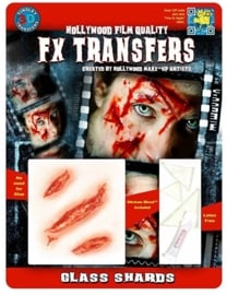 Wond glasscherven 3D FX transfers