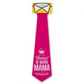 Fun stropdas hoera Mama