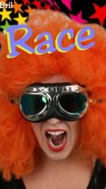 Racebril / vliegeniersbril