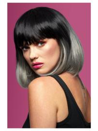 Manic Panic® Alien Grey™ Ombre Glam Doll Pruik