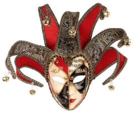 Venetiaans masker vrouw deluxe