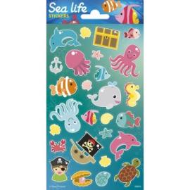 Sticker vel Sealife
