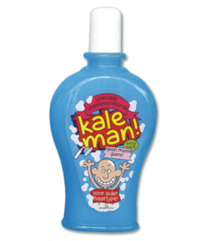Shampoo fun Kale man