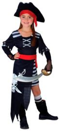 Gevaarlijk piraten prinses kostuum