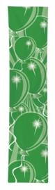 Feest banner groen 300x60cm