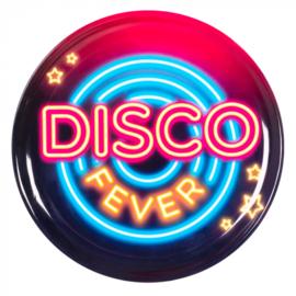 Plastic dienblad 'Disco fever' (34,5 cm)