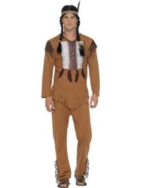 Indianen kostuum man