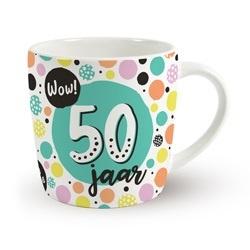 Verjaardags mok - 50 jaar | koffie beker
