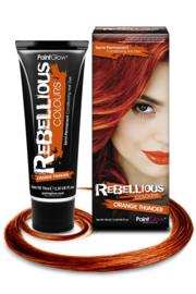 Haarverf semi permanent orange thunder