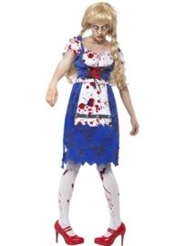 Zombie oktoberfest jurkje