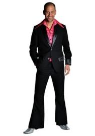 Disco / 70`s kostuum zwart
