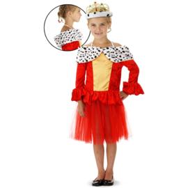 Koninginne jurkje rood