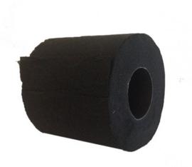 Zwart toiletpapier