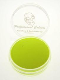 PXP waterschmink neon geel 10gr
