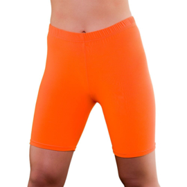 Cycling short neon oranje