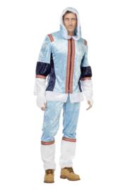 Eskimo kostuum blauw