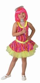Neon dance jurkje meisjes