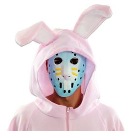 Hockey masker konijn