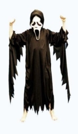 Scream outfit zwart