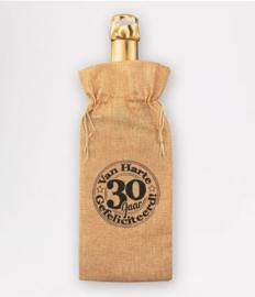 Bottle gift bag - 30 jaar