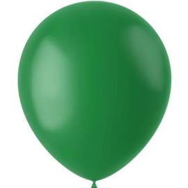Ballonnen Pine Green Mat 33cm - 50 stuks