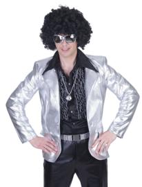 Zilveren colbert disco fever