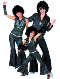 Disco Jumpsuit zwart
