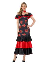 Spaanse flamenca jurk