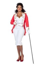 Garde kostuum lady plus